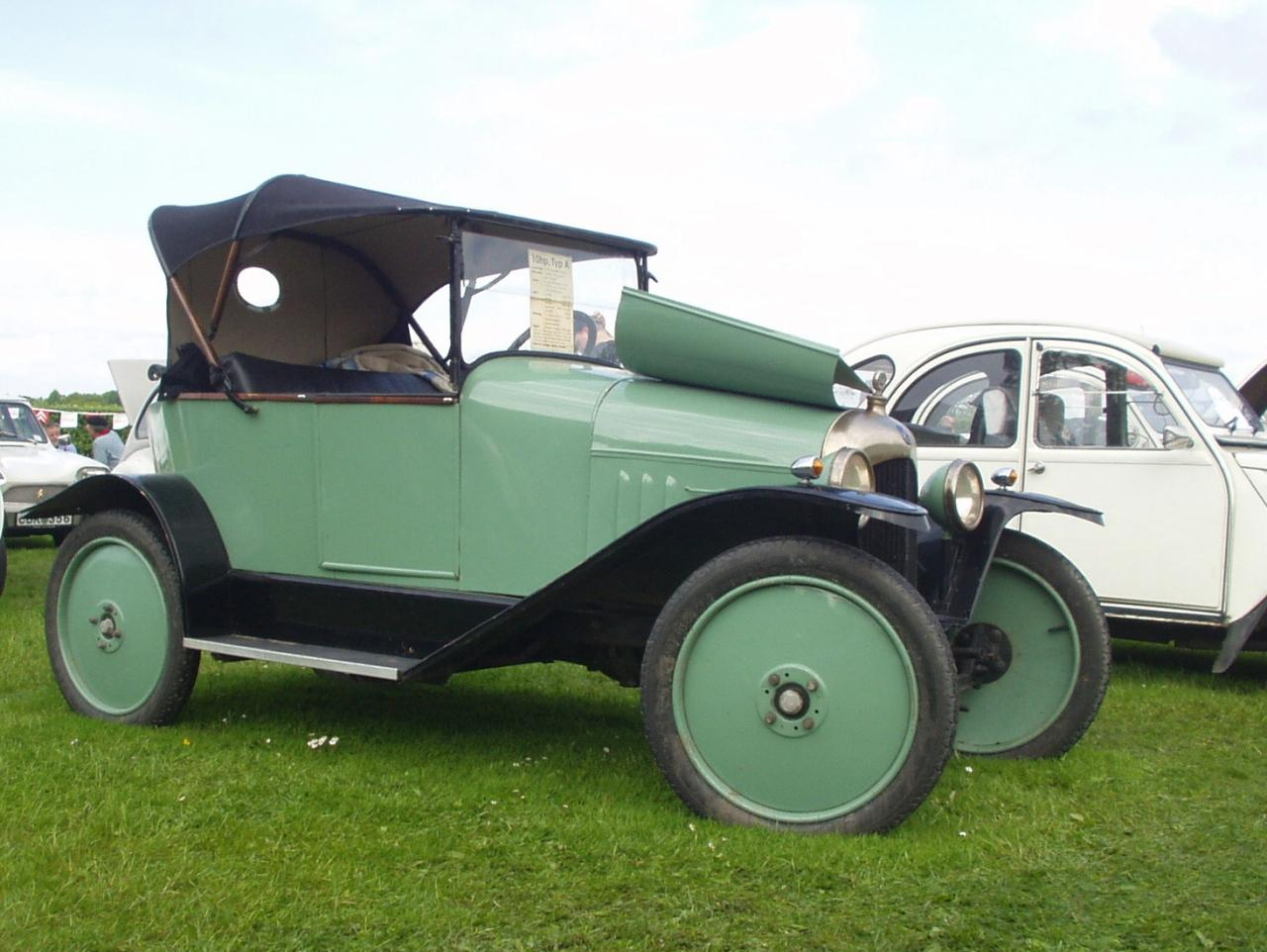 10 HP Type A Tourer